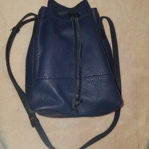 J Crew cinch leather bag
